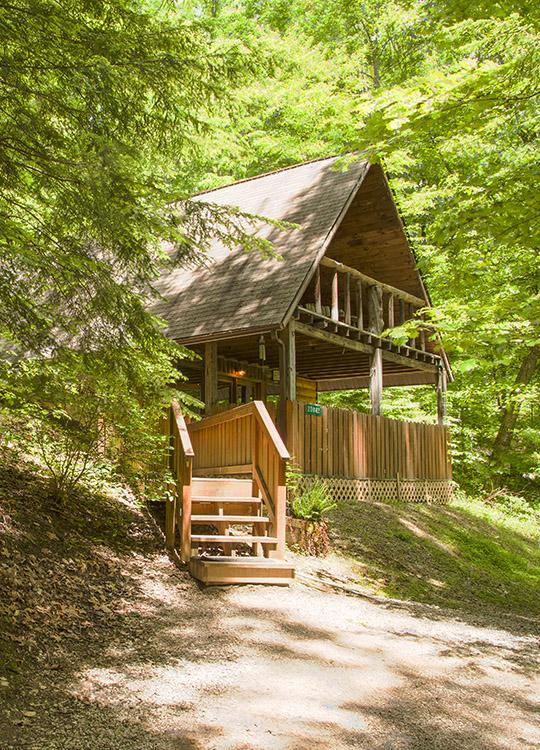Stargazer Cabin In Hocking Hills At Getaway Cabins