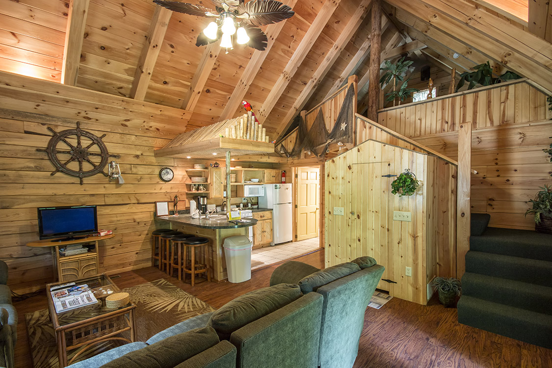 Margaritaville cabin in hocking hills at getaway cabins Getawaycabins com