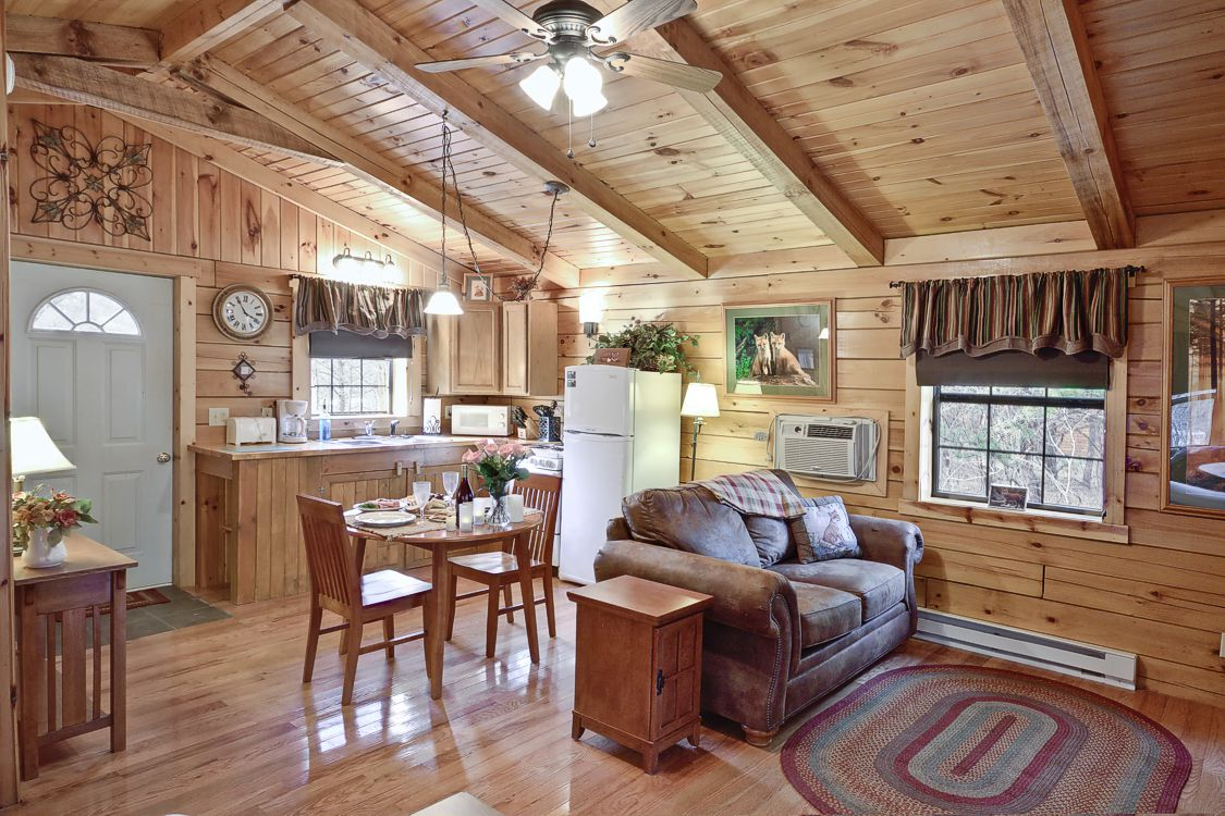 One Room Cabins hocking hills one room romatic cabin for couples getaways
