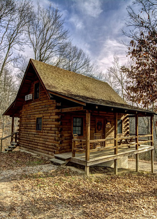 Eagle 39 s nest cabin in hocking hills at getaway cabins Getawaycabins com