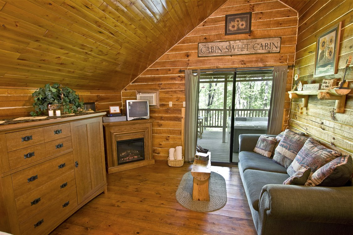 Cabin Rental 2 At Getaway Cabins 174 Lodging In Ohio
