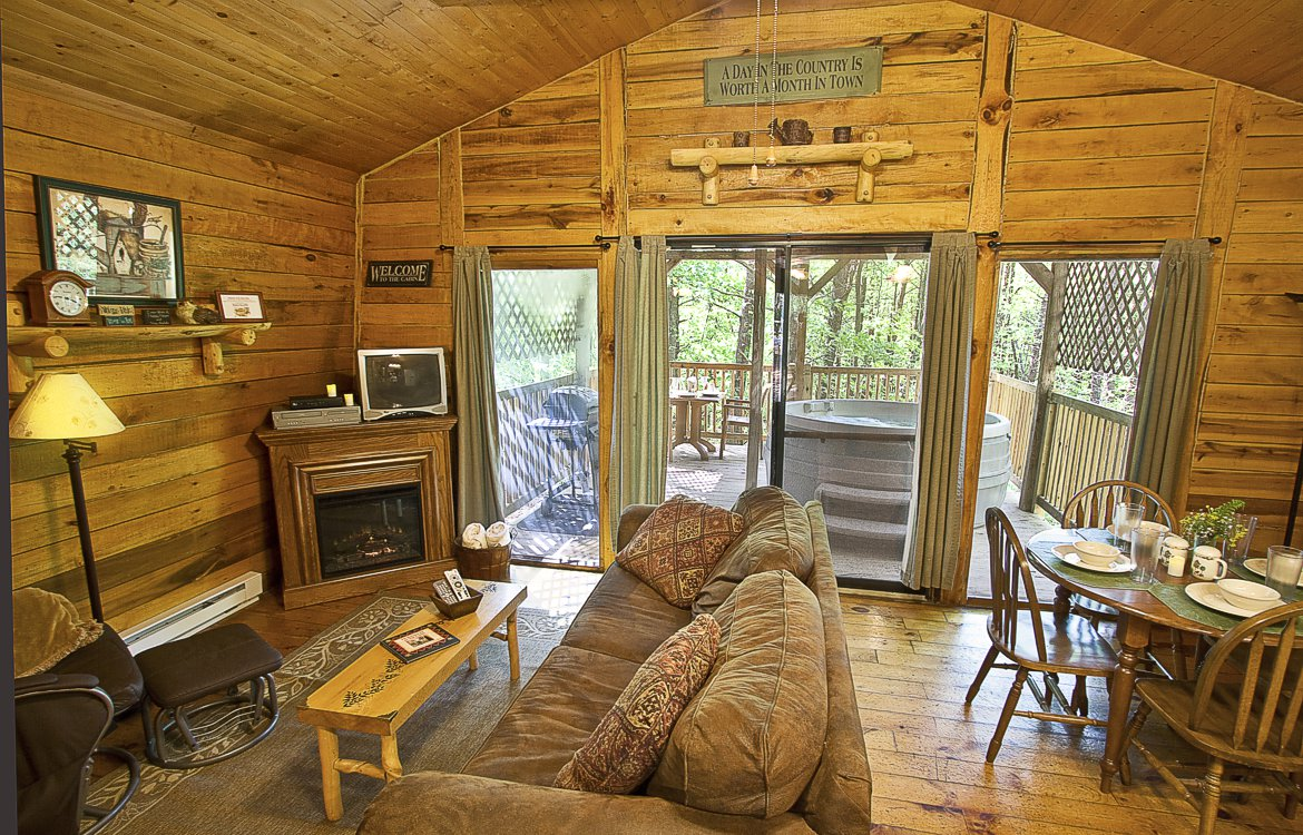Hocking hills cabin 3 at getaway cabins near hocking Getawaycabins com
