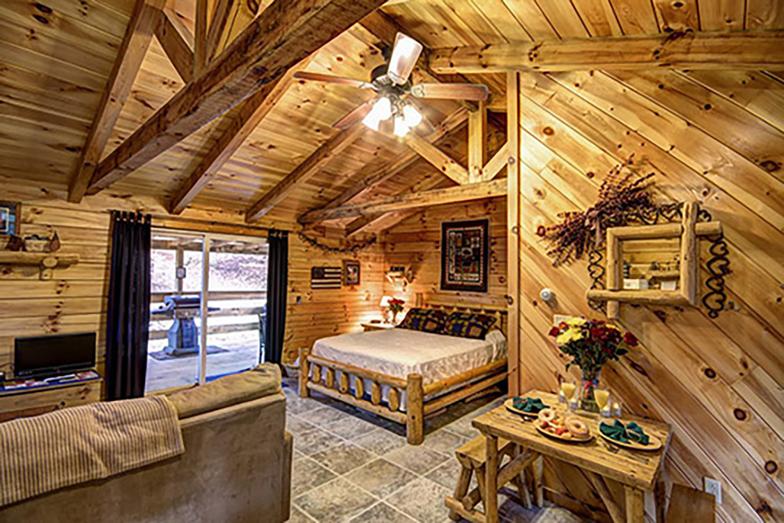 American hollow 9 pet friendly cabin at getaway cabins Getawaycabins com