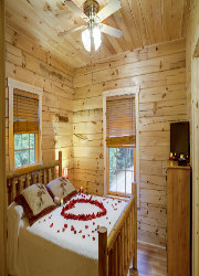 Cabin Bed of Roses