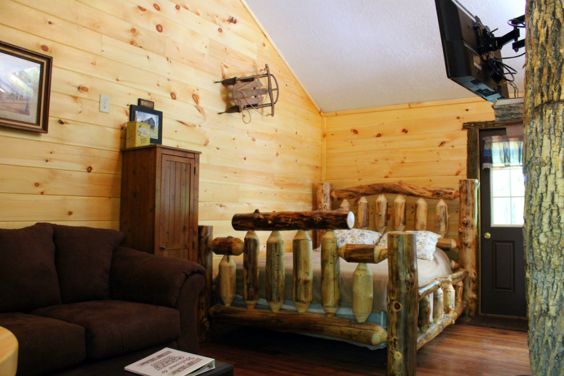 Cabin rental 47 at getaway cabins lodging in ohio Getawaycabins com